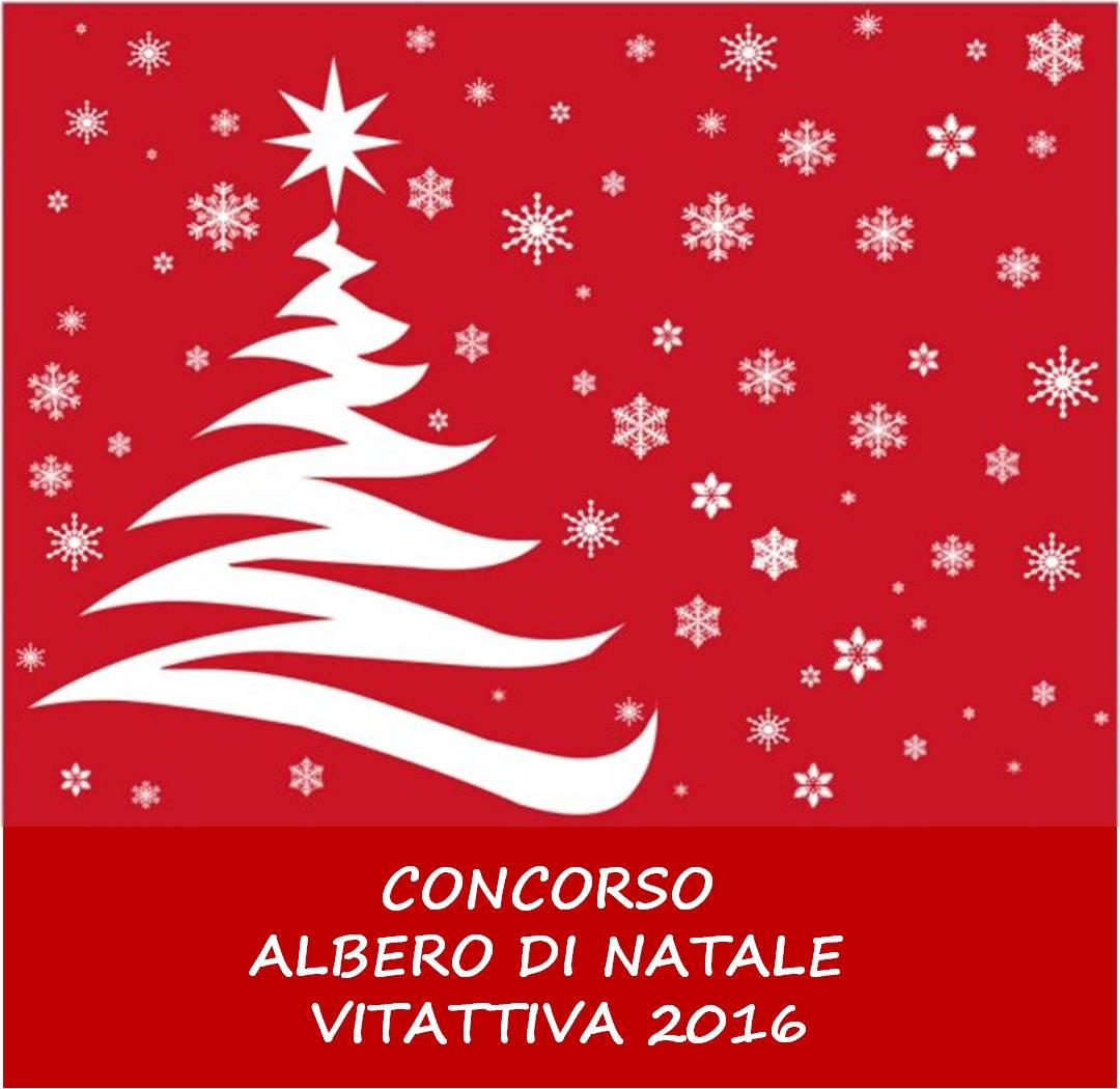 CONCORSO ALBERO DI NATALE VITATTIVA 2016
